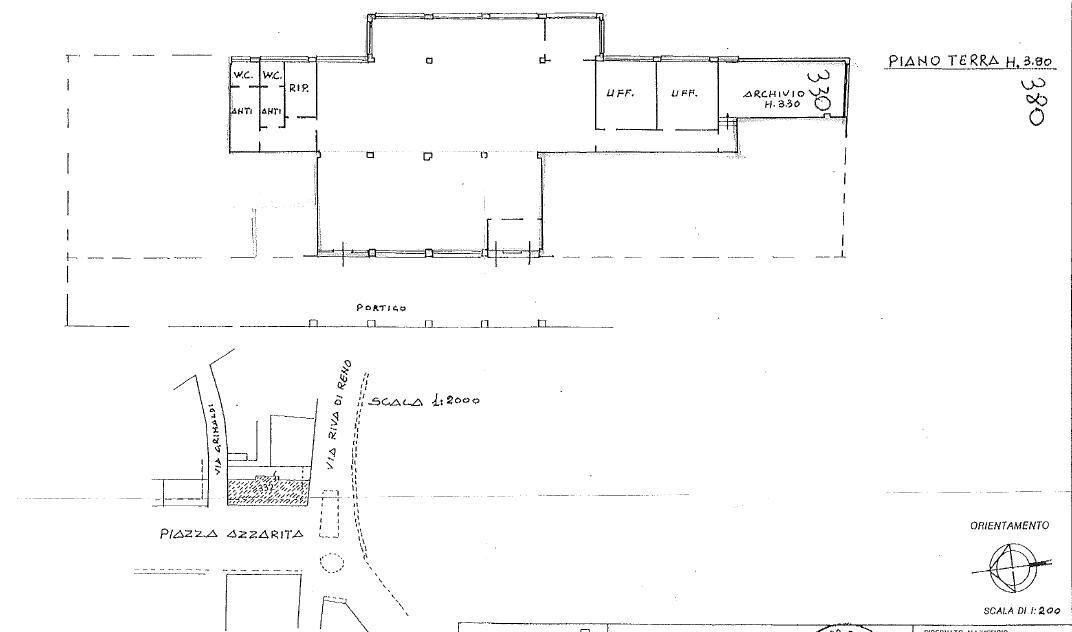 Piazza Azzarita,Centro Nord,4 Rooms Rooms,Commerciale,1164