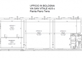 Via San Vitale,Centro Nord,6 Rooms Rooms,Commerciale,1202