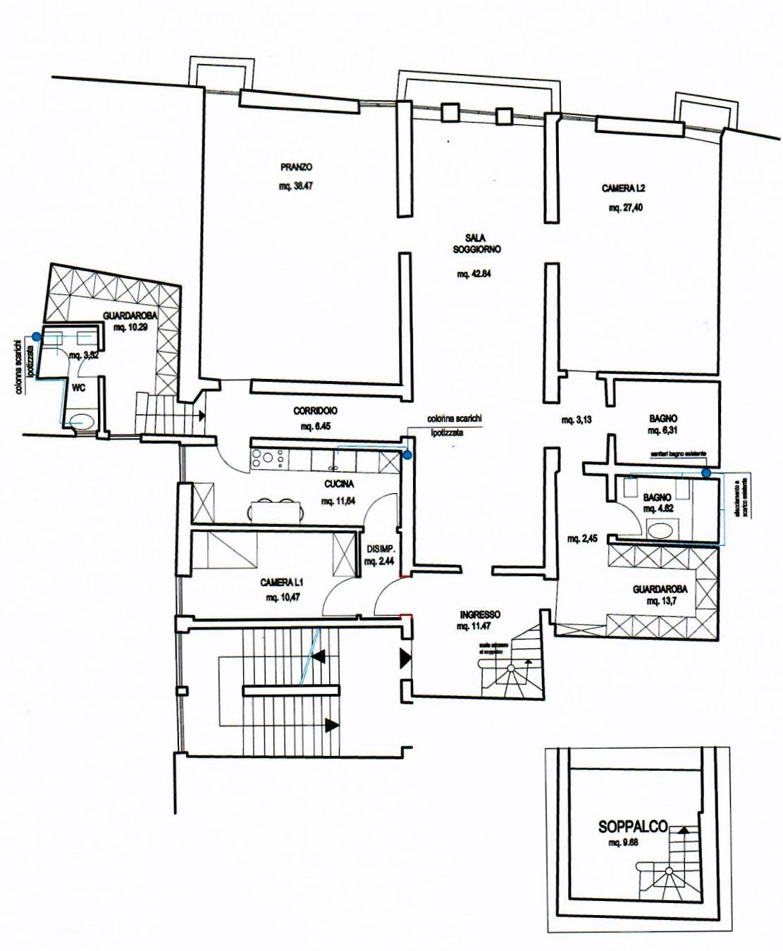 San Polo,Fuori Bologna,5 Rooms Rooms,Residenziale,1239